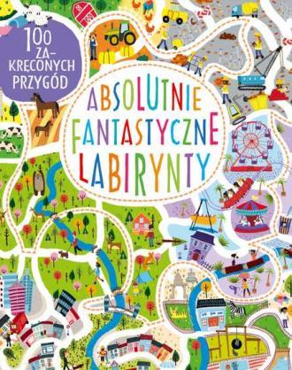 Absolutnie fantastyczne labirynty - okładka książki