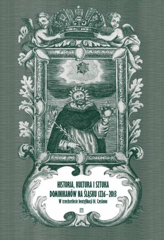 Historia, kultura i sztuka dominikanów - okładka książki