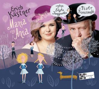 Mania czy Ania - pudełko audiobooku