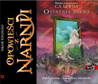Opowieści z Narnii. Ostatnia bitwa - pudełko audiobooku