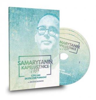 Samarytanin, kapelusznice i kot - pudełko audiobooku