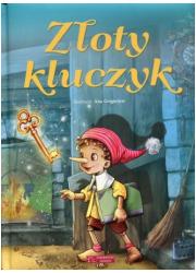 Złoty kluczyk - okładka książki