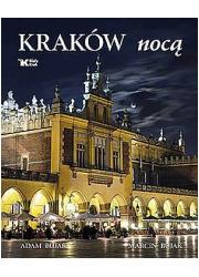 Kraków nocą (wersja pol.) - okładka książki