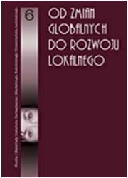 Od zmian globalnych do rozwoju - okładka książki