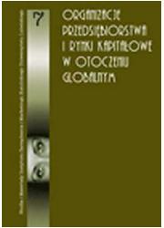 Organizacje, przedsiębiorstwa i - okładka książki