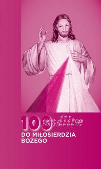 100 modlitw do miłosierdzia bożego - okładka książki