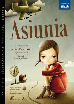 Asiunia - okładka książki