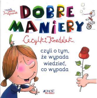 Dobre maniery Cecylki Knedelek - okładka książki