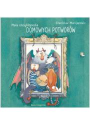 Mała encyklopedia Domowych Potworów - okładka książki