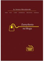 Zamyślenia na blogu - okładka książki
