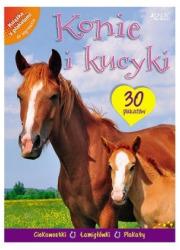 Konie i kucyki. Moja książka z - okładka książki