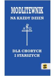 Modlitewnik dla chorych i starszych - okładka książki