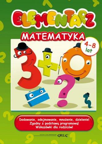 Elementarz - matematyka - okładka książki