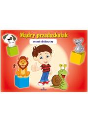 Mądry Przedszkolak (czerwona) - okładka książki