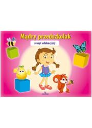 Mądry Przedszkolak (różowy) - okładka książki