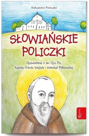 Słowiańskie policzki - okładka książki