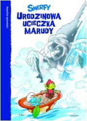 Smerfy. Urodzinowa ucieczka Marudy - okładka książki