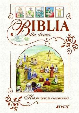 Biblia dla dzieci. Historia zbawienia - okładka książki
