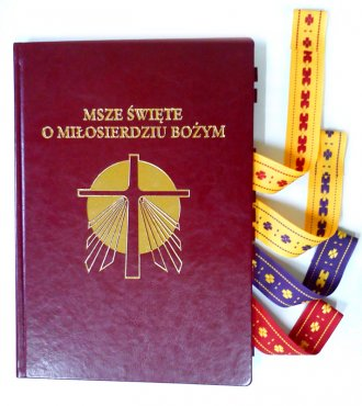 Msze Święte o Miłosierdziu Bożym - okładka książki