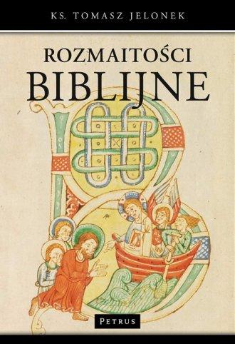Rozmaitości biblijne - okładka książki