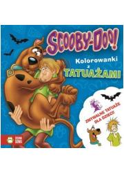 Scooby-Doo! Kolorowanki z tatuażami - okładka książki