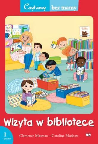 Wizyta w bibliotece (1 etap czytania) - okładka książki