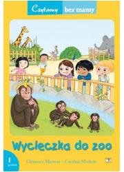 Wycieczka do zoo (1 etap czytania) - okładka książki