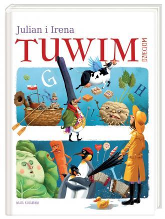 Julian i Irena Tuwim dzieciom - okładka książki