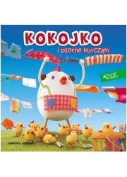 Kokojko i psotne kurczaki - okładka książki