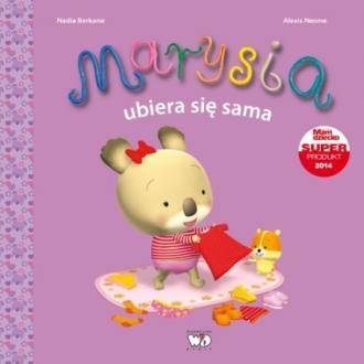 Marysia ubiera się sama - okładka książki