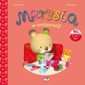 Marysia w restauracji - okładka książki