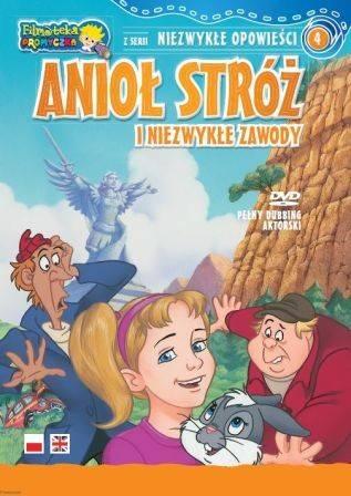 Anioł Stróż i Niezwykłe Zawody. - okładka filmu
