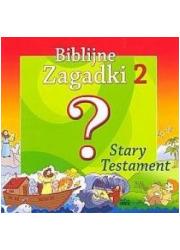 Biblijne zagadki cz. 2. Stary Testament - okładka książki