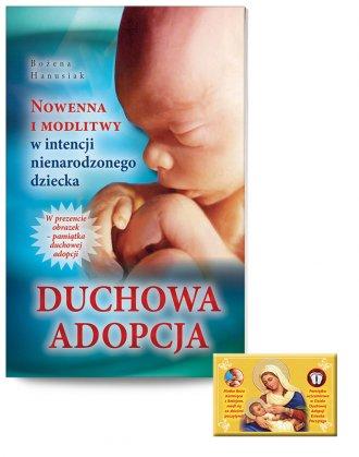 Duchowa adopcja. Nowenna i modlitwy - okładka książki