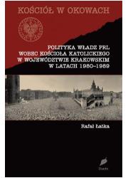 Polityka władz PRL wobec Kościoła - okładka książki