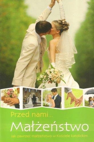 Przed nami małżeństwo - okładka książki