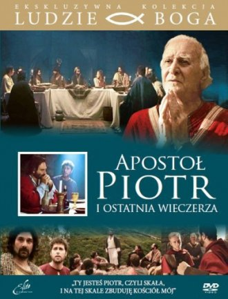 Apostoł Piotr i Ostatnia Wieczerza. - okładka filmu