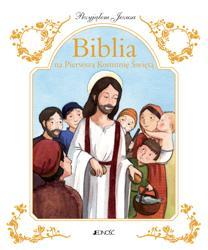 Przyjąłem Jezusa. Biblia na Pierwszą - okładka książki