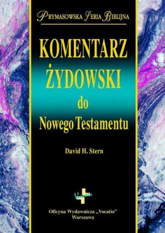 Komentarz Żydowski do Nowego Testamentu. - okładka książki