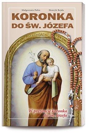 Koronka do Św. Józefa (+ różaniec) - okładka książki