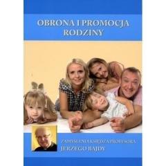 Obrona i promocja rodziny - okładka książki