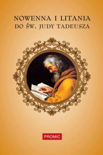 Nowenna i litania do św. Judy Tadeusza - okładka książki