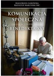 Komunikacja społeczna według Benedykta - okładka książki