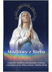 Modlitwy z Nieba. Cudowne modlitwy - okładka książki