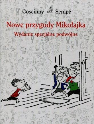 Nowe przygody Mikołajka.  Wydanie - okładka książki