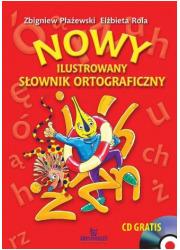 Nowy ilustrowany słownik ortograficzny - okładka książki