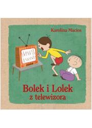 Bolek i Lolek z telewizora - okładka książki