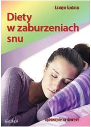 Diety w zaburzeniach snu - okładka książki