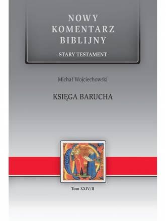 Księga Barucha. Seria: Nowy komentarz - okładka książki