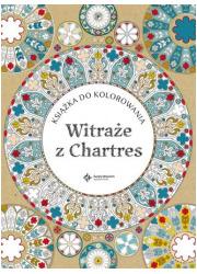 Witraże z Chartres - okładka książki